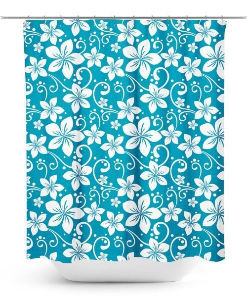Aloha Print Shower Curtain