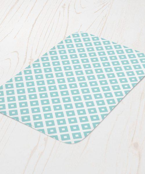 Blue diamond pattern bath math