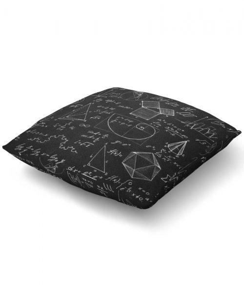 Math Equation Design Floor Pillow