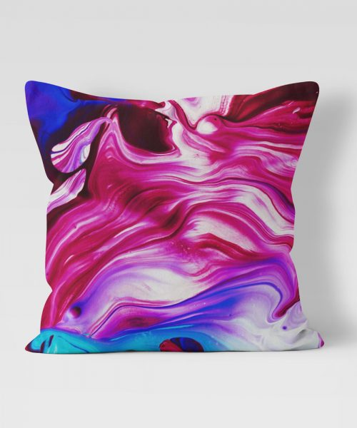Paint Swirl Outdoor Pillow